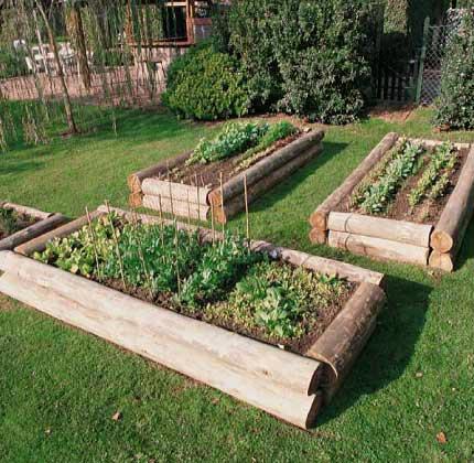Hacer un huerto en el jardin dise os arquitect nicos for Hacer un huerto en el jardin